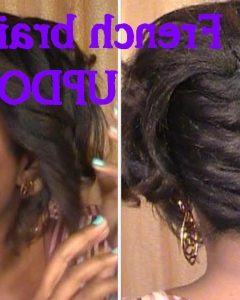 Braided Hairstyles For Relaxed Hair