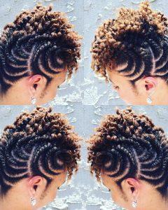 Braided Maze Low Ponytail Hairstyles