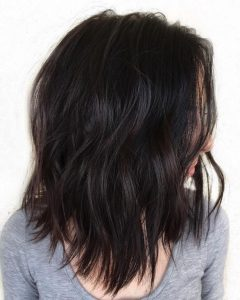Choppy Medium Hairstyles For Thick Hair
