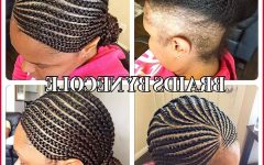 Cornrows Hairstyles with No Edges