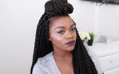 Cute Jumbo Twist Braids