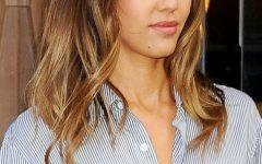 Jessica Alba Medium Haircuts