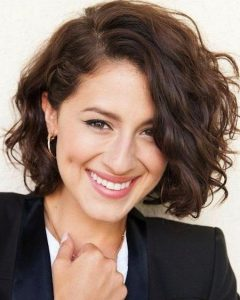 Medium Bob Hairstyles For Curly Hair