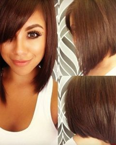 Medium Haircuts For Round Faces Black Hair