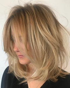 Messy Layered Haircuts for Fine Hair