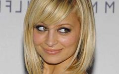 Nicole Richie Shoulder Length Bob Hairstyles