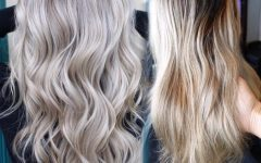 Pale Blonde Balayage Hairstyles