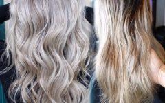 Pale Blonde Balayage Hairstyles