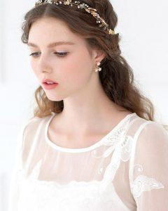 Romantic Vintage Wedding Hairstyles