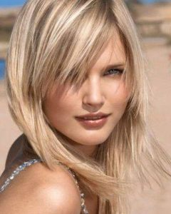 Shaggy Blonde Hairstyles