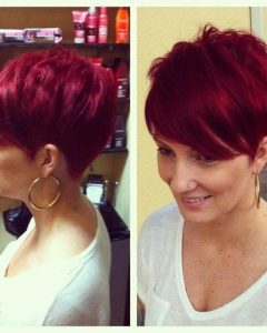 Short Red Pixie Haircuts