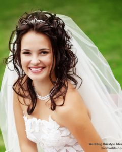 Wedding Hairstyles For Long Straight Hair With Veil