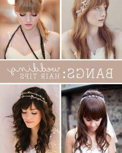 Wedding Hairstyles With Fringe