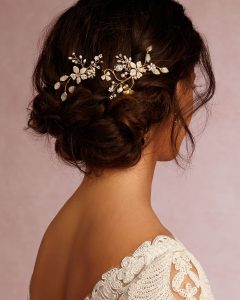 Wedding Hairstyles With Jewelry