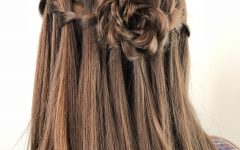 Rosette Curls Prom Hairstyles