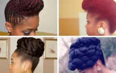 Natural Hair Updo Hairstyles
