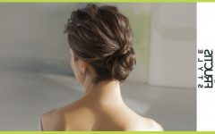 Messy Twisted Chignon Prom Hairstyles