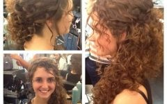 Curly Hair Updo Hairstyles