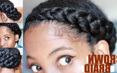 Dutch Braid Crown for Black Hair