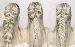 Upside Down Fishtail Braid Hairstyles