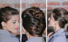 Quick Twist Updo Hairstyles