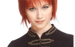 Ravishing Red Pixie Haircuts