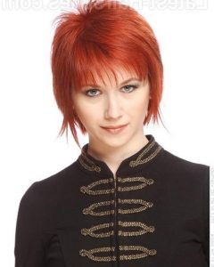 Ravishing Red Pixie Haircuts