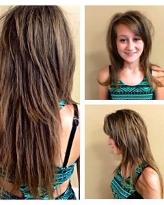 Razored Layers Long Hairstyles