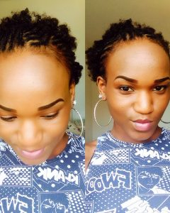 Braided Hairstyles Cover Forehead