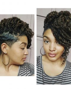 Braided Hairstyles With Tapered Sides