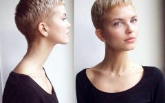 Buzzed Pixie Haircuts