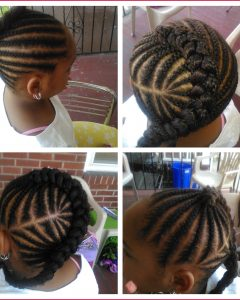 Cornrows Hairstyles For School