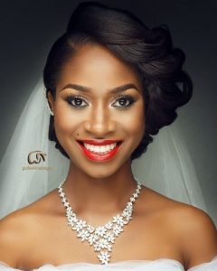 Ebony Wedding Hairstyles