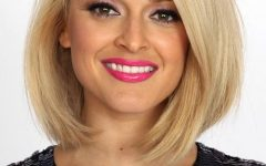 Fearne Cotton Shoulder Length Bob Hairstyles