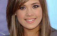Long Hairstyles with Layers and Side Bangs