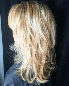 Long Layer Shagged Hairstyles