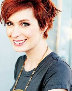 Long Pixie Hairstyles with Skin Fade