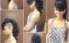 Long Straight Hair Mohawk Hairstyles