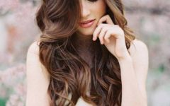 Loose Curls Hairstyles for Wedding