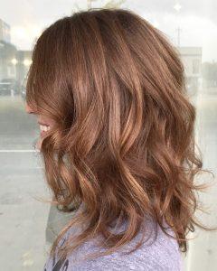 Medium Hairstyles Loose Curls