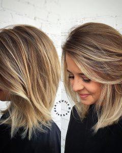 Medium to Medium Haircuts for Thick Hair
