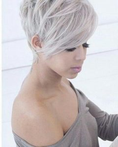 Pixie Haircuts With Long Fringe