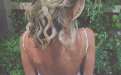 Tangled Braided Crown Prom Hairstyles