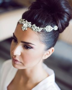 Wedding Hairstyles With Headpiece
