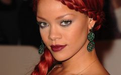 Rihanna Braided Hairstyles