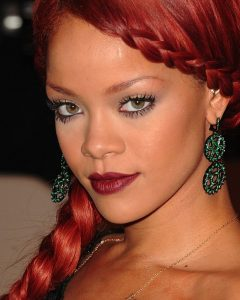 Rihanna Braided Hairstyles