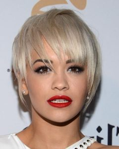Rita Ora Short Hairstyles