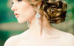 Updo Hairstyles for Strapless Dress