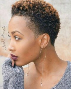 Natural Short Haircuts