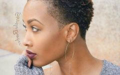 Short Hairstyles for Natural Black Hair